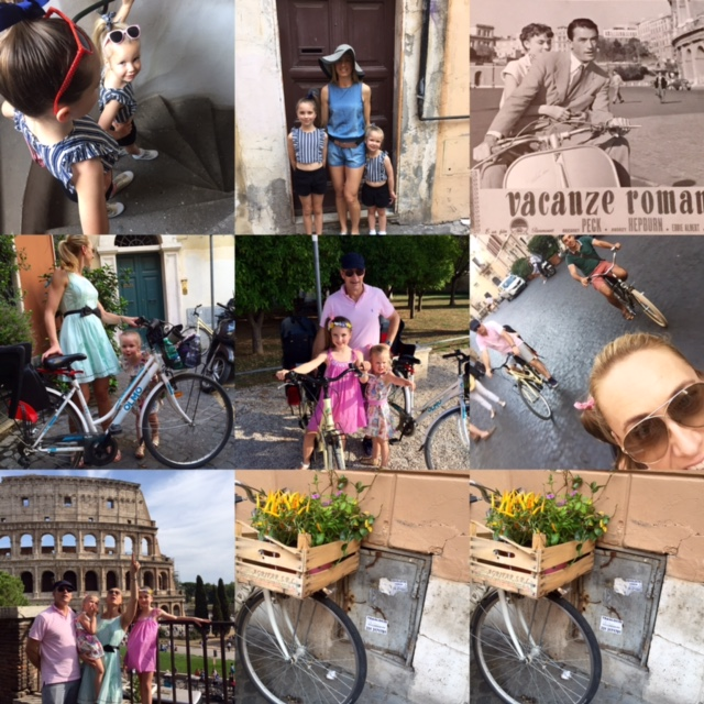 Experience Roma, Italy with your bambinos on board