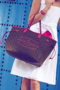 Louis Vuitton LV Neverfull tote