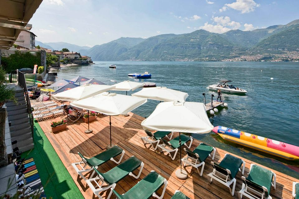 Lake Como with children