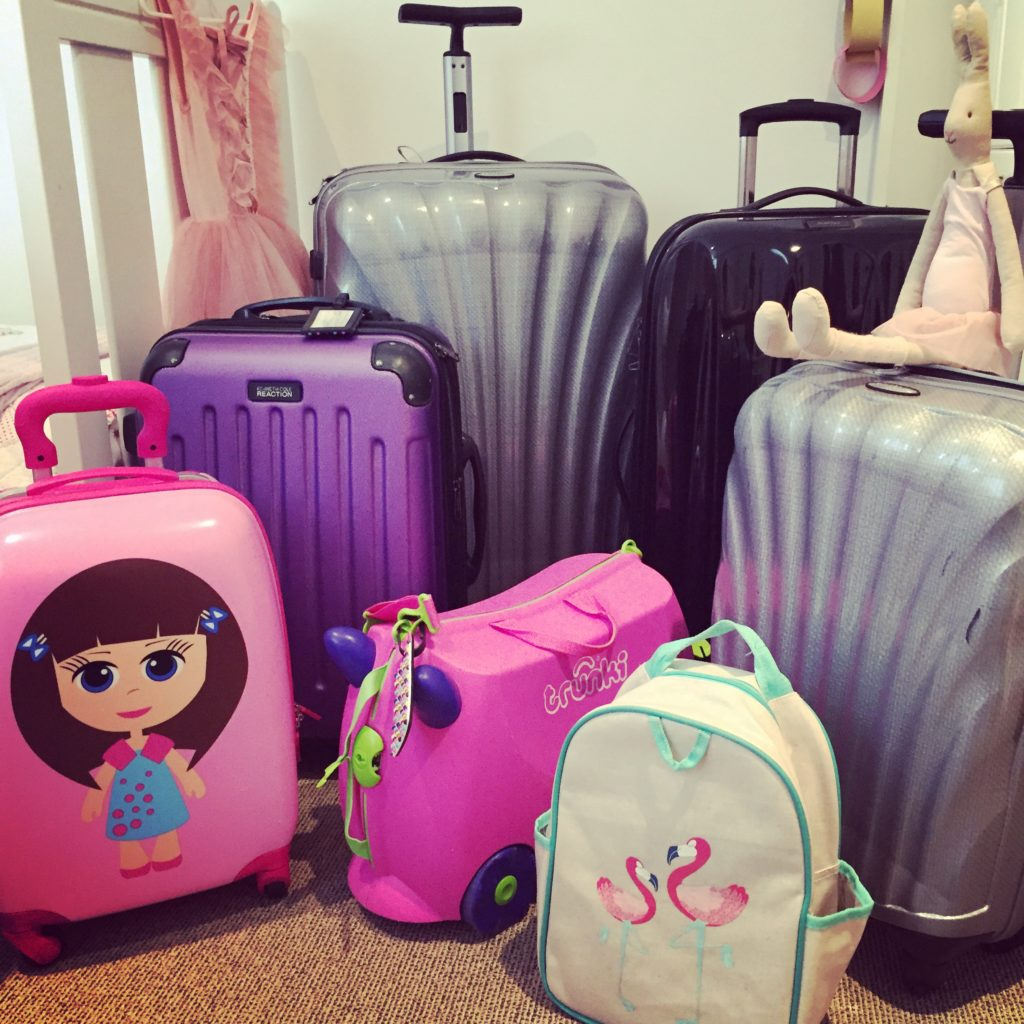 Pack light with kids