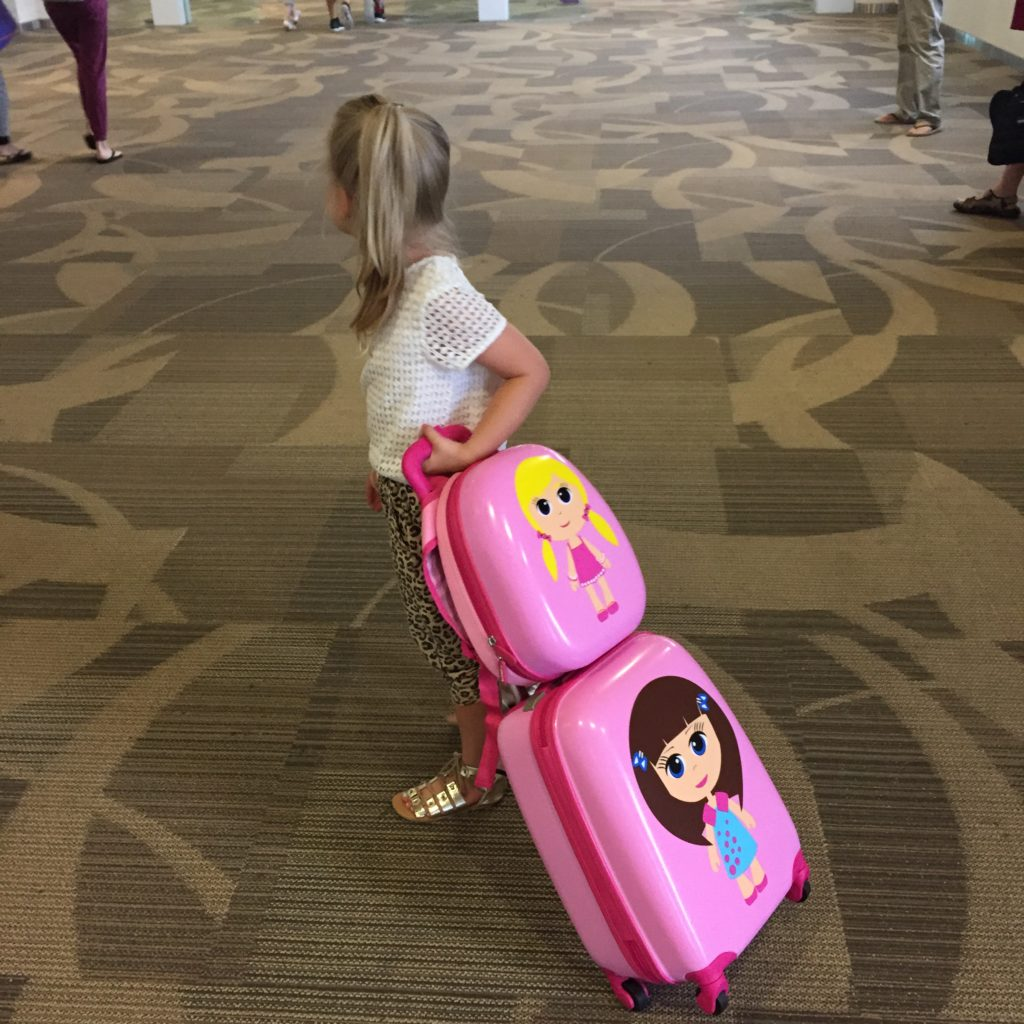 Packing light with kids