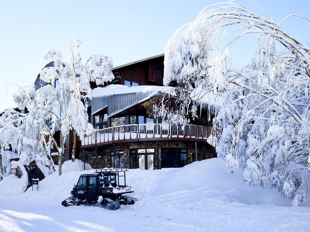 A winter wonderland awaits you at Astra Lodge Falls Creek, Australia.